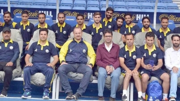 File picture of the Real Kashmir FC team.