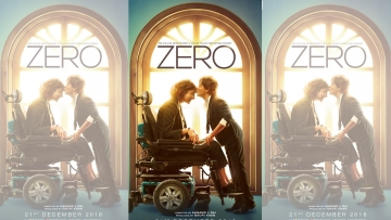 <i>Zero </i>stars Shah Rukh Khan and Anushka Sharma.