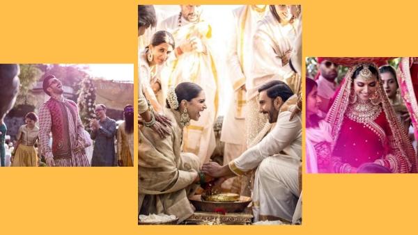 Pics: Ranveer's Ghagra Look & the Happy DeepVeer Wedding Album