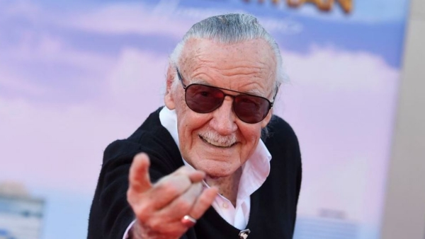 Legendary Marvel comic book writer, editor and publisher Stan Lee.