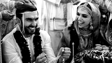 Ranveer and Deepika tie the knot at Lake Como.