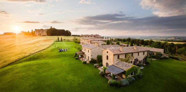 Anushka Sharma and Virat Kohli's wedding venue:  Borgo Finocchieto, Italy