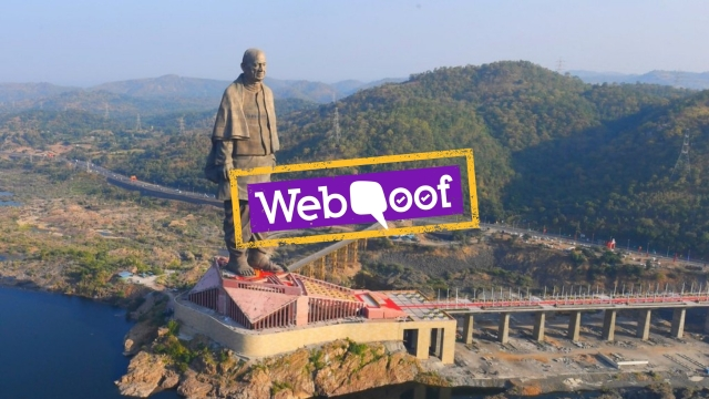 Many social media posts claim that PSUs paid Rs 2,500 crore for the Statue of Unity out of their CSR funds.