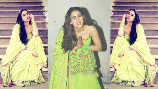Sara Ali Khan at her candid best.