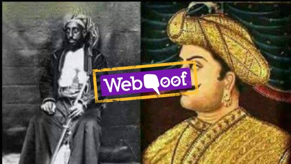 Tipu Sultan's 'Real' Photo Tweeted by BJP Spokesman is Not...Real