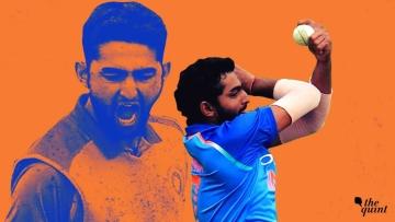 Uttar Pradesh's Shiva Singh exhibited his unique run-up against Bengal in the Under-23 CK Nayudu Trophy.