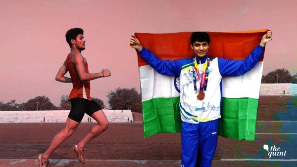 Avnil Kumar started training in 400m only a year and half back.