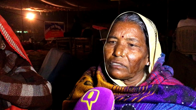 Savita Rai is a farmer from Uttar Pradesh, she says that Thakurs have troubled the peasants in her area.
