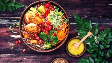 'Buddha Bowls' are trending on Instagram and Pinterest.