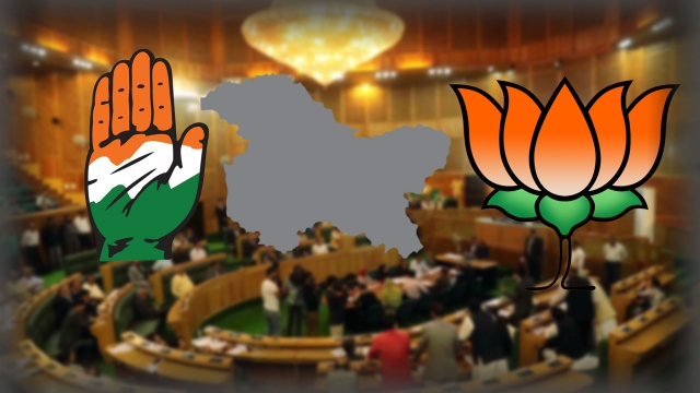 Political Drama unfolds over dissolution of J&K Assembly.