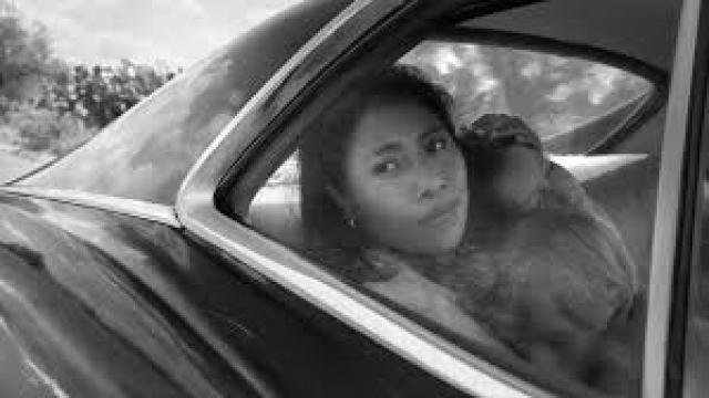 Yalitza Aparicio plays the role of maid Cleo in <i>Roma</i>.