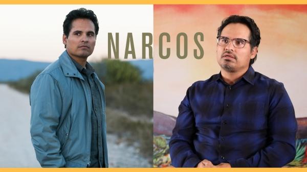 Michael Peña on playing DEA agent Kiki Camarena in <i>Narcos: Mexico.</i>