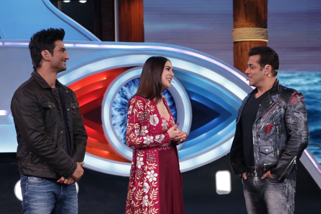 The <i>Kedarnath</i> duo talk about the show and their film to Salman Khan.