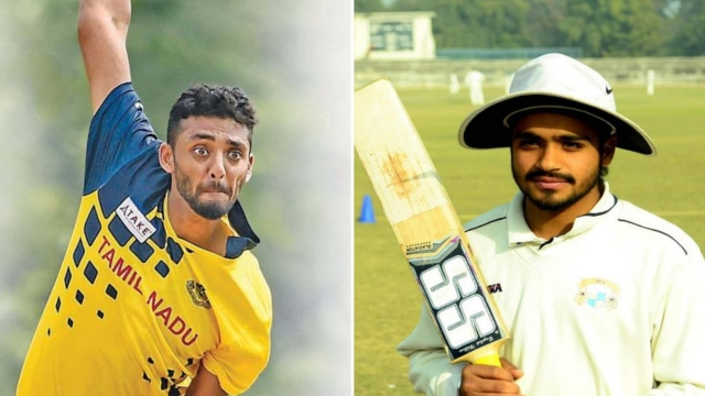 Unheralded players Varun Chakravarthy (left) and Prabhsimran Singh were acquired by KXIP for a combined sum of Rs 13.20 crore.
