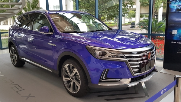 The Roewe Marvel X is an all-electric SUV owned by MG Motor's parent company SAIC.
