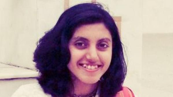 Shreya a train accident survivor