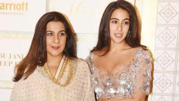 Sara Ali Khan says her mother tried to raise her and brother Ibrahim in a real manner.