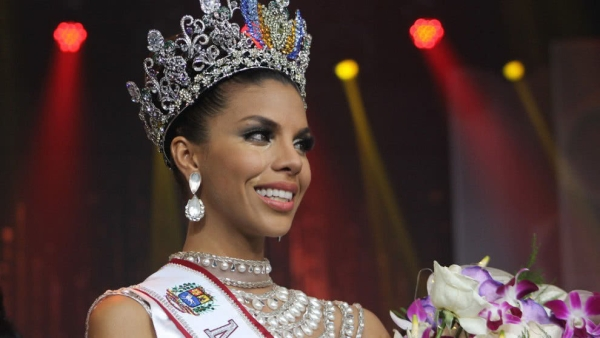 Isabella Rodriguez, an erstwhile slum dweller is the newest beauty queen of Venezuela.