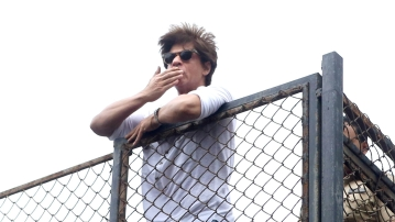 Shah Rukh Khan is currently working on Aanand L Rai's film <i>Zero</i>.