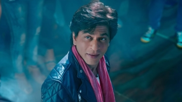 SRK in a still from <i>Zero</i>.