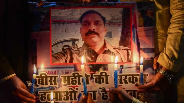 Subodh Kumar was shot at, hit and killed by a mob.