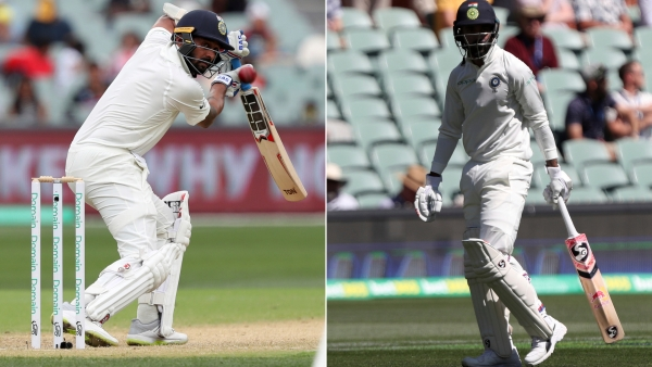 Murali Vijay (left) and KL Rahul have struggled to get going away from home this year.