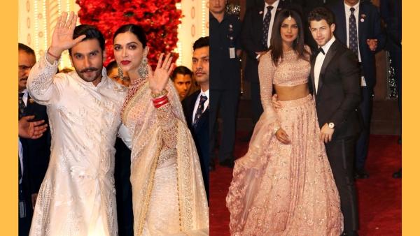 DeepVeer, NickYanka and Other Couples at the Ambani Wedding