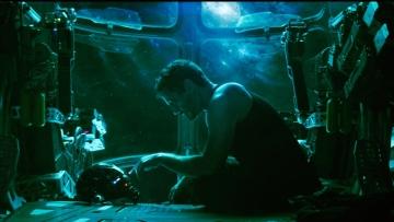 Robert Downey Jr in a still from <i>Avengers: Endgame</i>.
