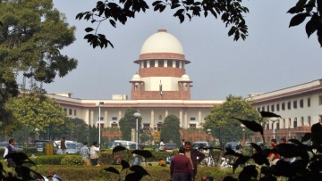 File image of Supreme Court of India.