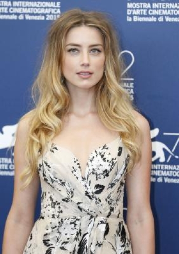 Actress Amber Heard. (File Photo: Xinhua/Ye Pingfan/IANS)(azp)