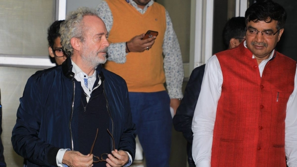 Christian James Michel, the alleged middleman wanted in India in connection with the AgustaWestland VVIP chopper scam.