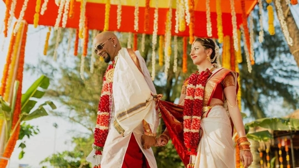Raghu Ram Shares Glimpse of His Wedding with Natalie Di Luccio