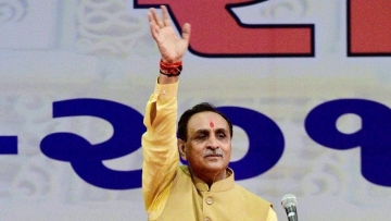 Gujarat Chief Minister Vijay Rupani. Photo used for representation.
