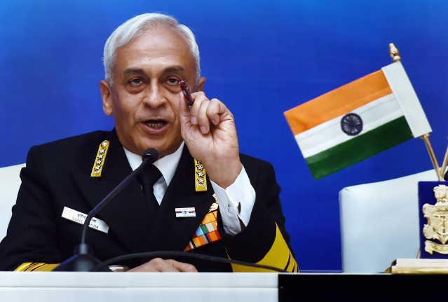 "Chief of the Naval Staff, Admiral Sunil Lanba, while addressing a press conference in New Delhi, ahead of the Navy Day celebrations on 4 November 2018, said a ""great deal of progress"" has been made on ensuring synergy and ""jointness"" among the three services."
