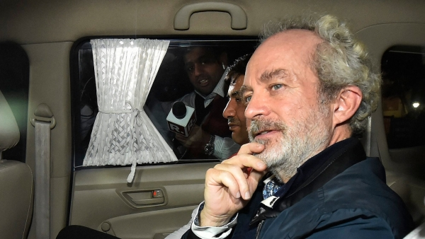File image of alleged AugustaWestland middleman Christian Michel.