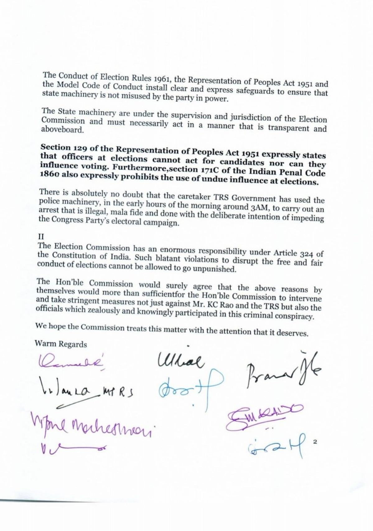 Telangana Elections 2018: Telangana Polls: War of Words