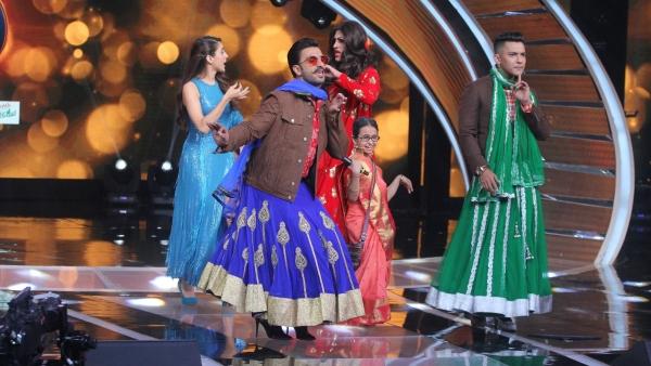Ranveer Singh on <i>Sa Re Ga Ma Pa</i>.