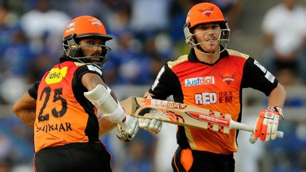 Ex-captain David Warner is back in the Sunrisers Hyderabad setup, but Shikhar Dhawan has been sold to Delhi Capitals.
