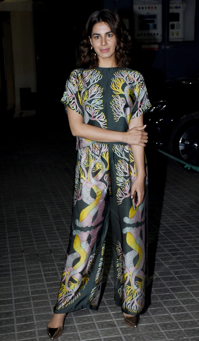 Kirti Kulhari attends the screening.