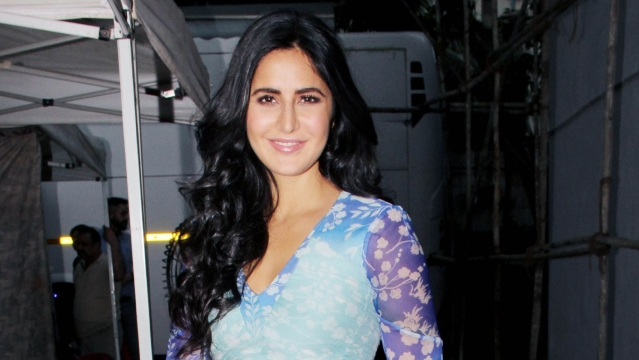 Katrina Kaif during the promotions of <i>Zero</i>.&nbsp;