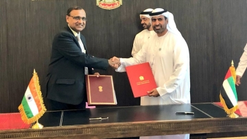 The Commerce Ministry has also established a special UAE desk to facilitate investments and resolve issues relating to UAE Investments in India.