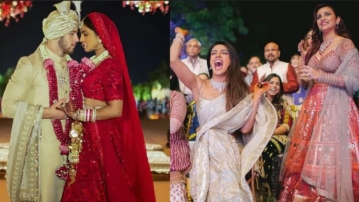 Parineeti Chopra at Priyanka Chopra & Nick Jonas' wedding.