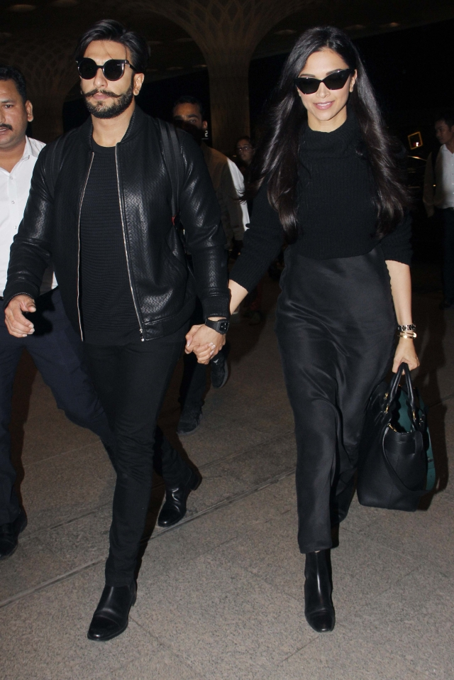 With both of them wearing sunnies in the evening, the shared style was obvious here as well!