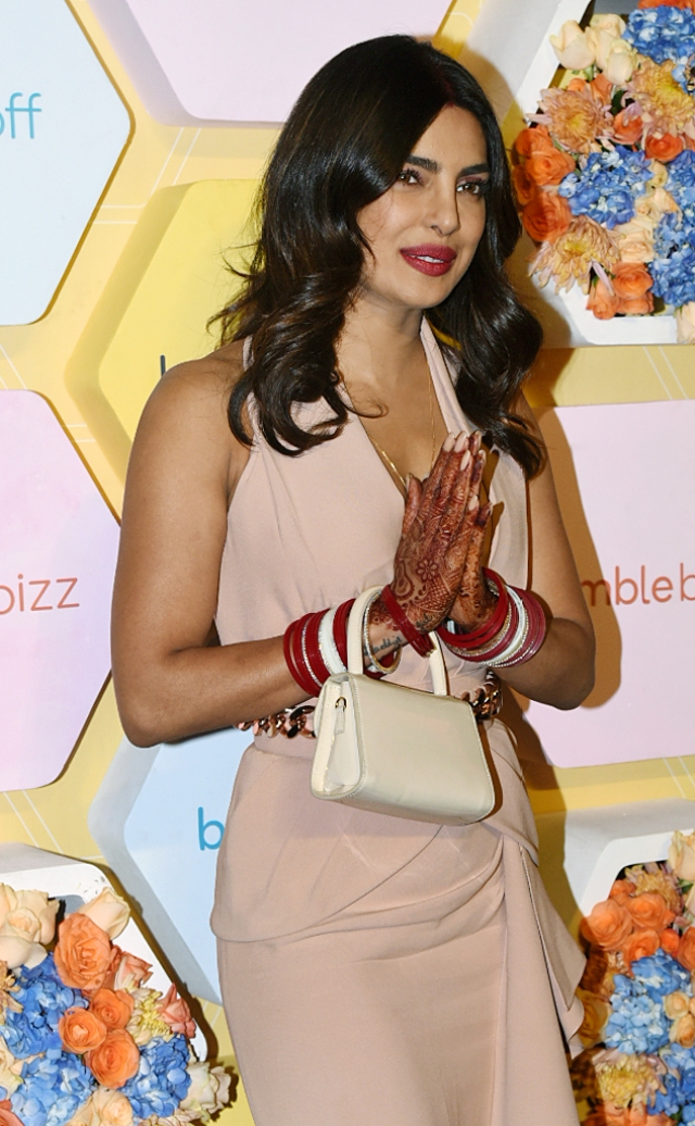 Priyanka Chopra looks as chic as ever.