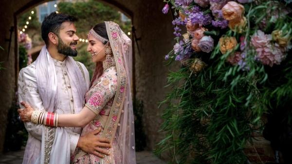 Mine Forever: Virat Wishes Anushka  on First Wedding Anniversary