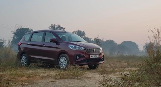 The 2018 Maruti Suzuki Ertiga comes with a 1.5 litre petrol motor and 1.3 litre diesel engine option.