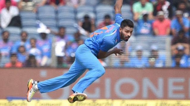 Hardik Pandya is back in India's limited overs squad after having been out injured since the Asia Cup in September.