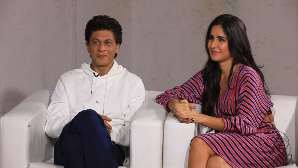 Shah Rukh Khan and Katrina Kaif get candid while promoting <i>Zero</i>.