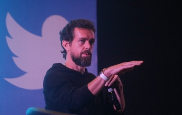 Twitter co-founder and CEO Jack Dorsey.