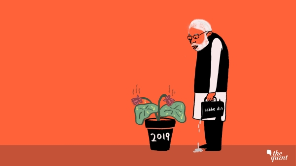 Cartoon: After State Polls, BJP's Ruined 2019 Flower is Kaafi Real